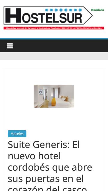 Suite Generis: El nuevo hotel cordobés que abre sus puertas en el corazón del casco histórico
